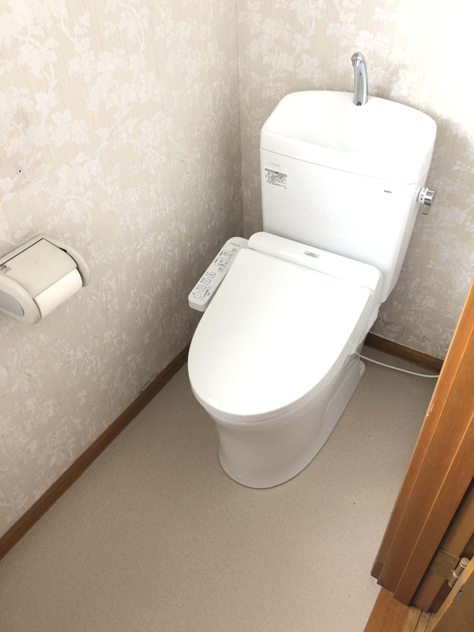 二階トイレ改修工事