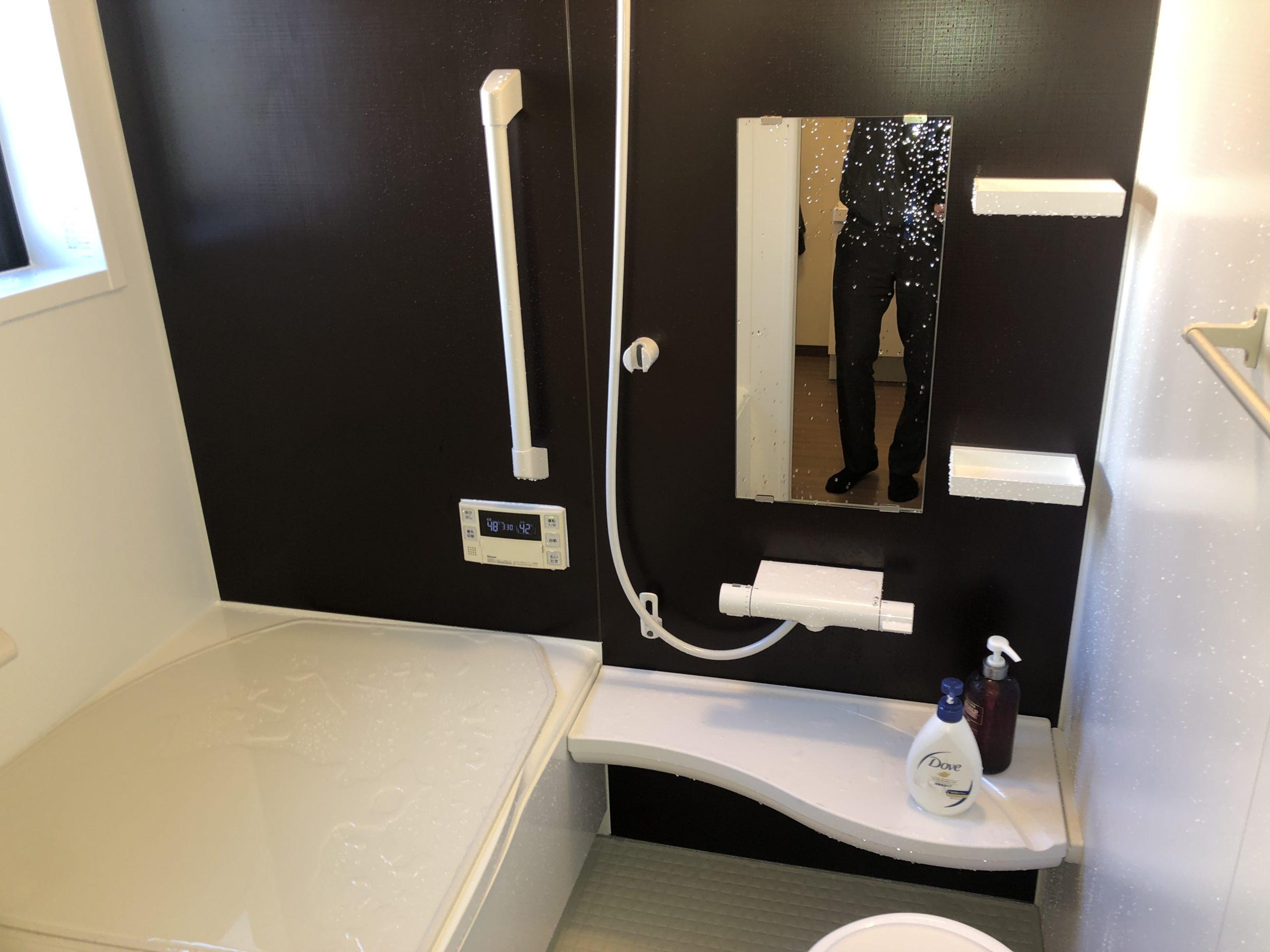 浴室、洗面室改修、IH設置工事