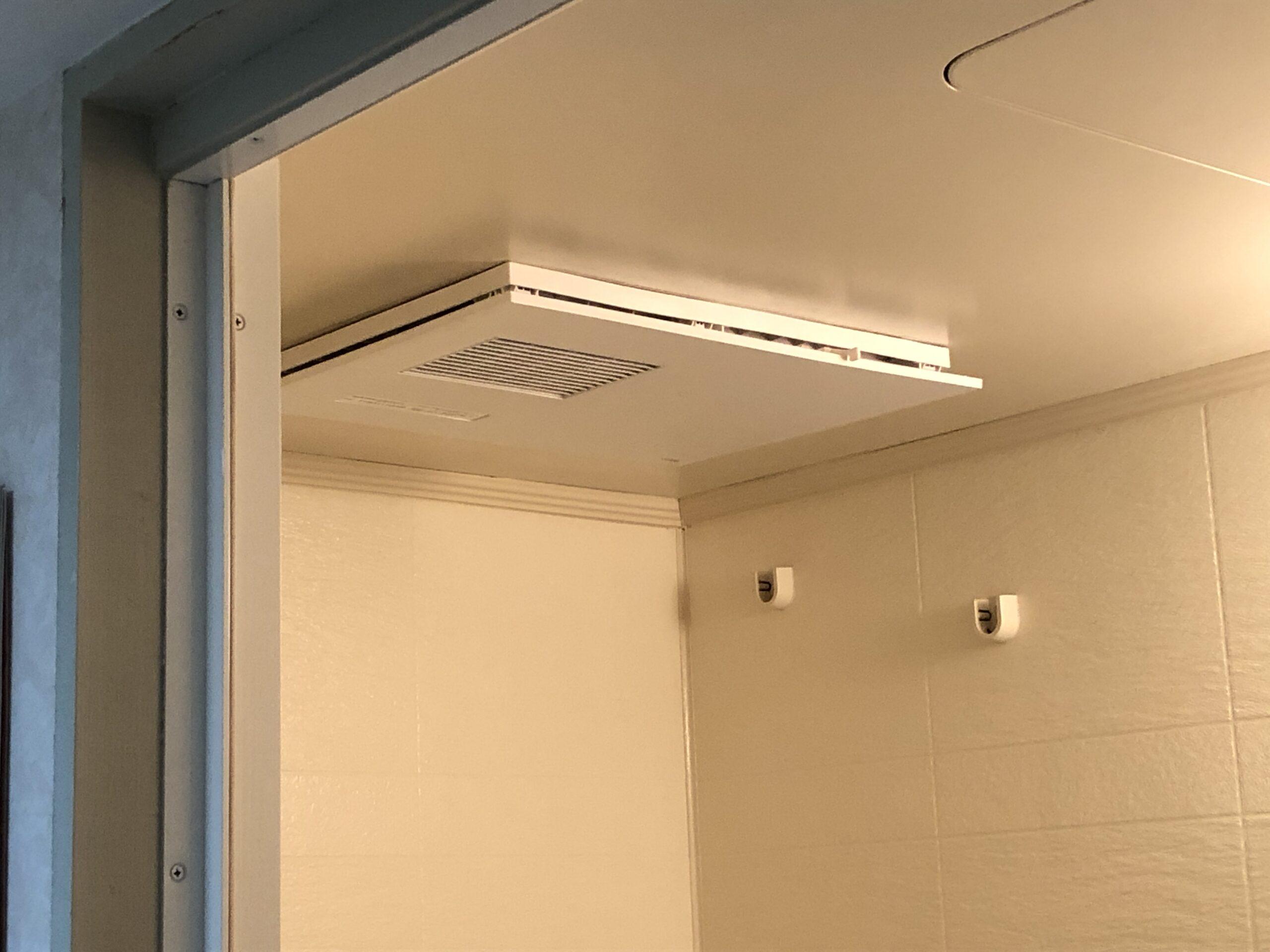 浴室暖房乾燥機交換工事