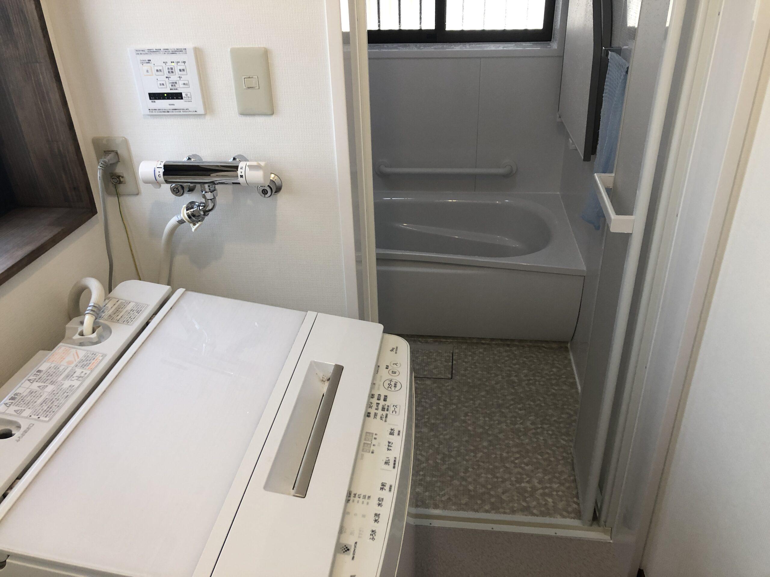 浴室、洗面所改修工事